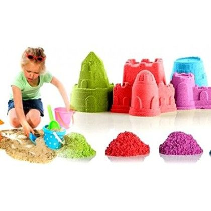 Clay Sand - 500 Gms With 4 Shaping Tools - The Quirk Box