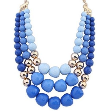 Shades Of Blue Necklace - Adores