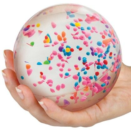 Colour Storm Bouncy Ball - Tobar