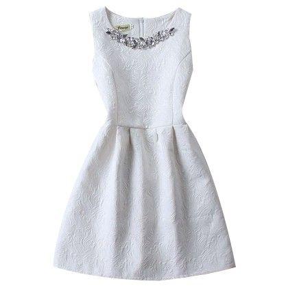 Slim Thin Vest Dress Women Mini Tutu Summer - White - STUPA FASHION