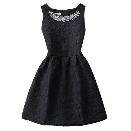 Slim Thin Vest Dress Women Mini Tutu Summer - Black - STUPA FASHION
