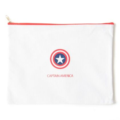 Super Hero (medium) Captain America (white) - It's All About Me