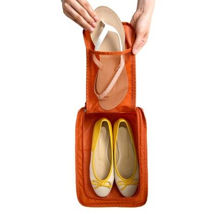 Shoe Bag Orange - My Gift Booth