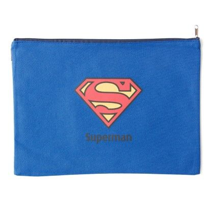 Super Hero A4 Size Superman (blue) - It's All About Me