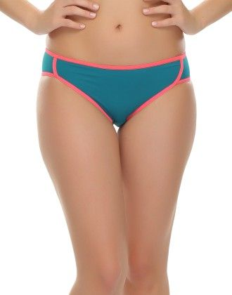 Clovia Comfy Teal Green Bikini