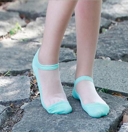 Lace Socks Blue - Dell's World