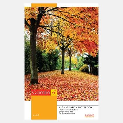 Camlin Extra Long Notebook - Soft Cover 120 Pages Unruled
