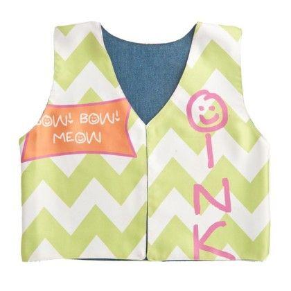 Girls Oink Printed Jacket - Shor Sharaba