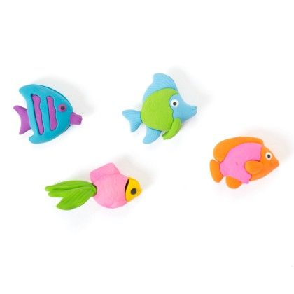 Fish Erasers (set Of 4) - It's All About Me