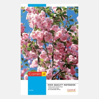 Camlin Long Notebook - Soft Cover 172 Pages Unruled