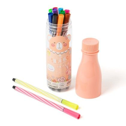 Peach 12 Pcs Water Pen - Sale Zone