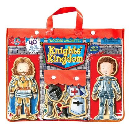 Knights' Kingdom Wooden Magnetic Heroes - TS Shure
