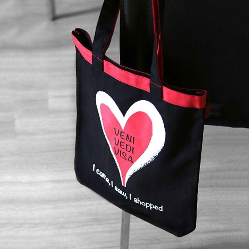 Veni Vedi Visa Shopping Bag Assorted 1 Unit - HitPlay