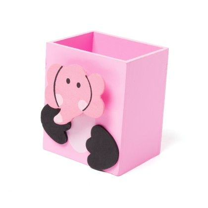 Pink Wooden Animal Pen Stand - Sale Zone