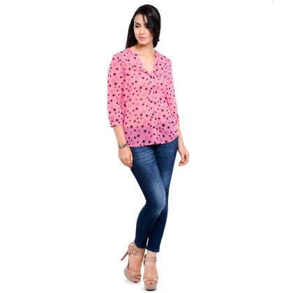 Pink Printed Shirt - Balloono