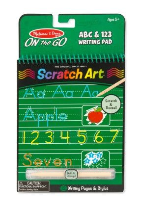 Abc And 123 Writing Pad - Melissa & Doug