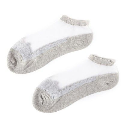 Lace White  Socks - Dell's World