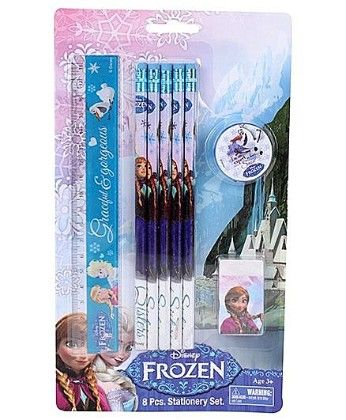 Frozen 8 Pcs Stationery Set - My Baby Excel