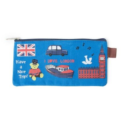 Pencil Pouch (london Blue) - It's All About Me