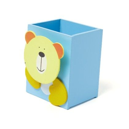 Blue Wooden Animal Pen Stand - Sale Zone