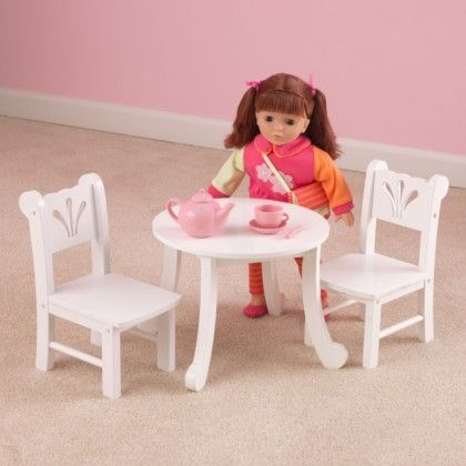Lil' Doll Table & Chair Set - KidKraft