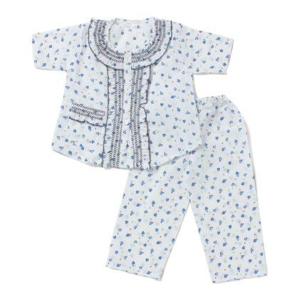My Heart Night Suit - Blue - BownBee
