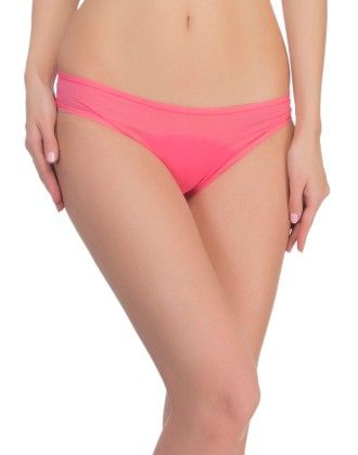 Clovia Powernet Bikini In Hot Pink