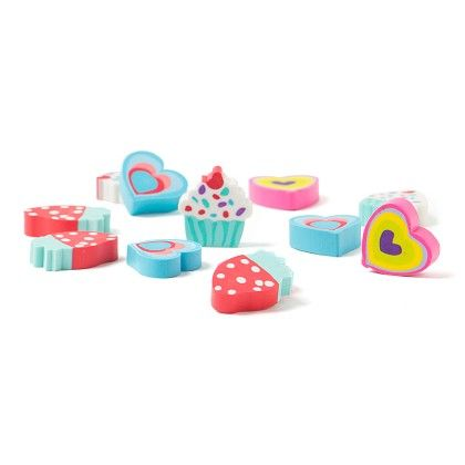 Set Of 12 Erasers - Diya