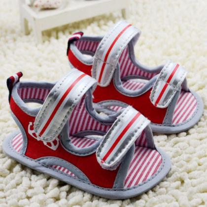 Anti Slip Sandals - Red - Little Jack