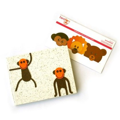 Combo Monkey Diary With Bookmarks - Two For Joy