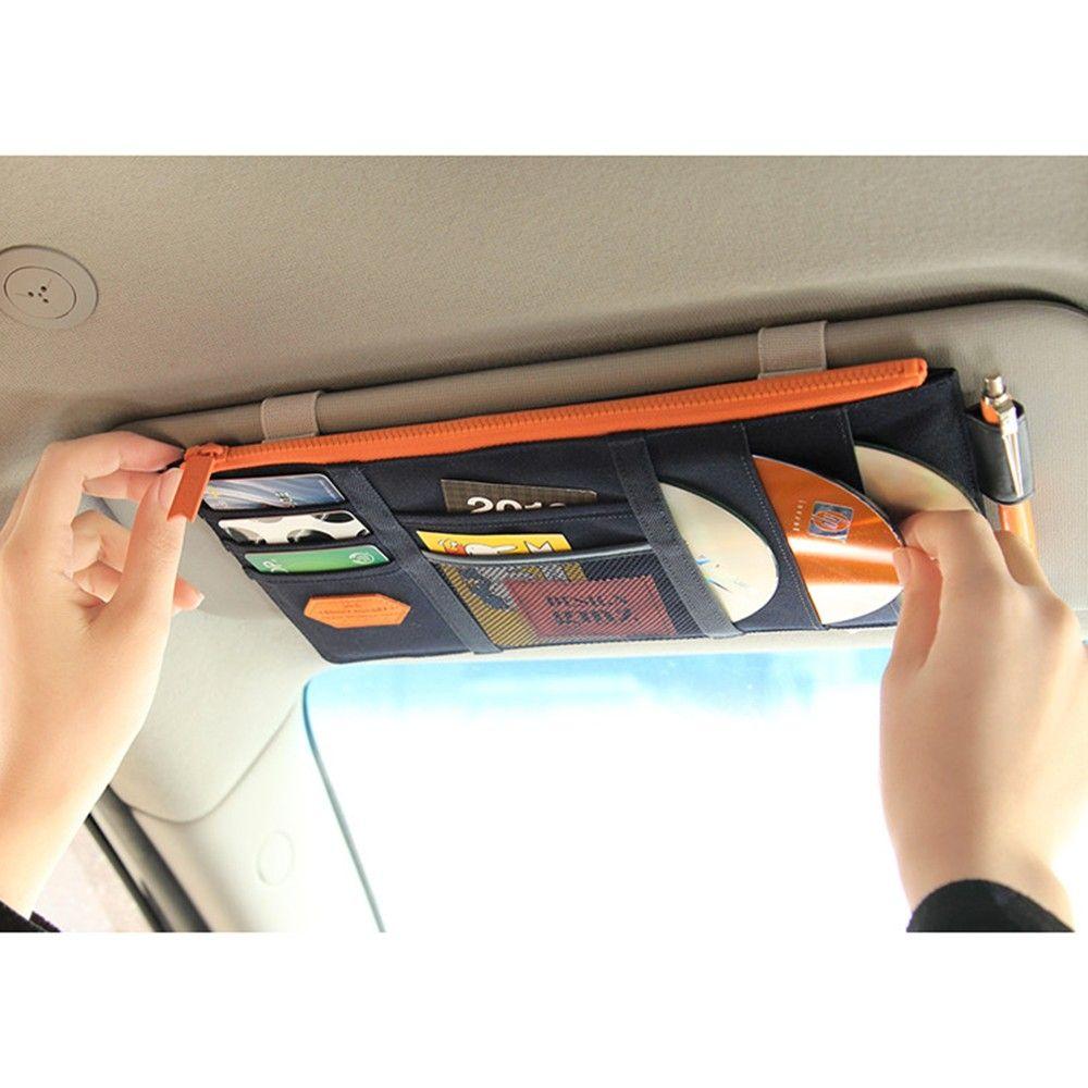 Органайзер для дисков в машину своими руками