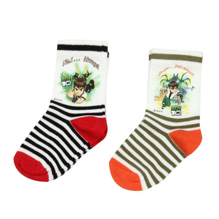 a1200c45d2b3a Buy Ben Ten Assorted Printed Socks - Pack of 2 online @ ₹190 | Hopscotch