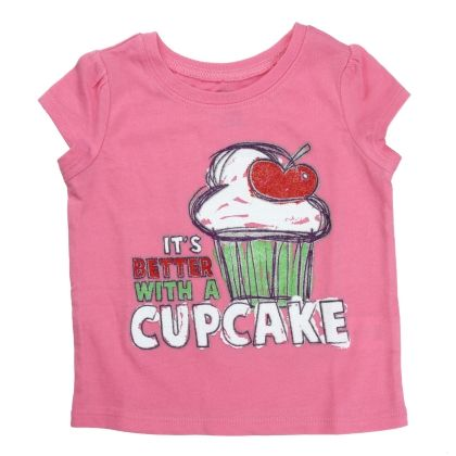 Short-sleeve Cupcake Graphic Tee - The Children's Place