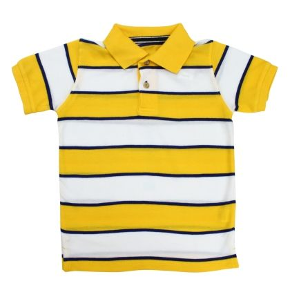 Stripes Polo Tee - The Children's Place - 15048