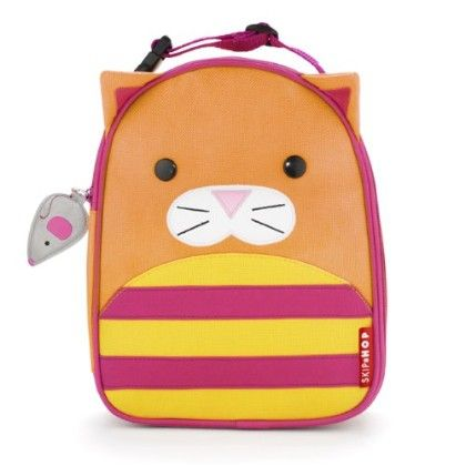 Zoo Lunchie Insulated Lunch Bags - Cat - SKIP HOP