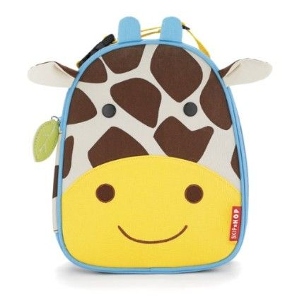 Zoo Lunchie Insulated Lunch Bags - Giraffe - SKIP HOP