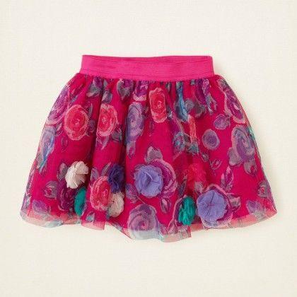 3d Floral Tutu - The Children's Place
