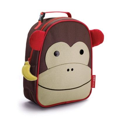 Zoo Lunchie Insulated Lunch Bags - Monkey - SKIP HOP