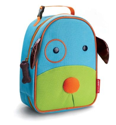 Zoo Lunchie Insulated Lunch Bags - Dog - SKIP HOP