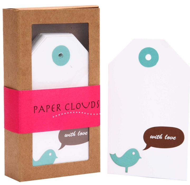 Tags Set of 18 - Love Birds