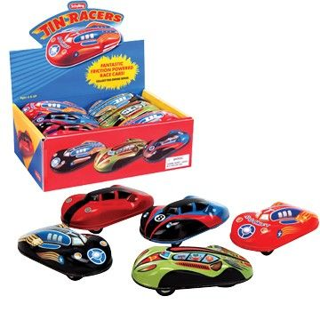 Tin Friction Car - Assorted Color & Style - 1 Unit (do Not Make Active) - Schylling Toys