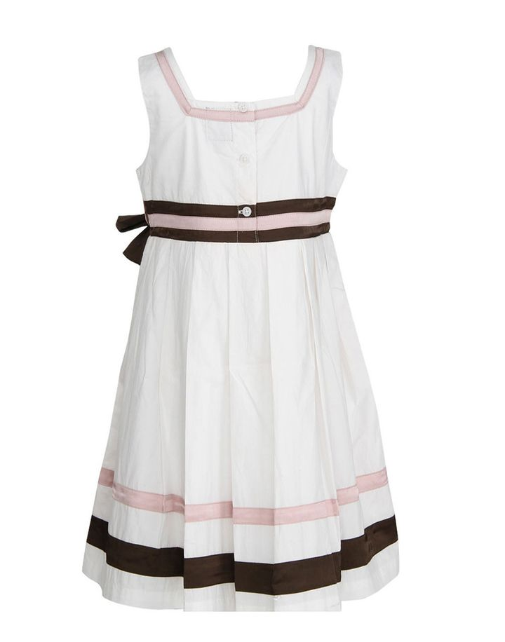 a42c04988 Hopscotch - Herberto - White Party Wear Frock With Bow