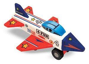 Decorate-your-own Wooden Jet Plane - MELISSA & DOUG