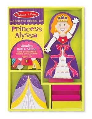 Princess Alyssa Magnetic Dress-up Set - MELISSA & DOUG