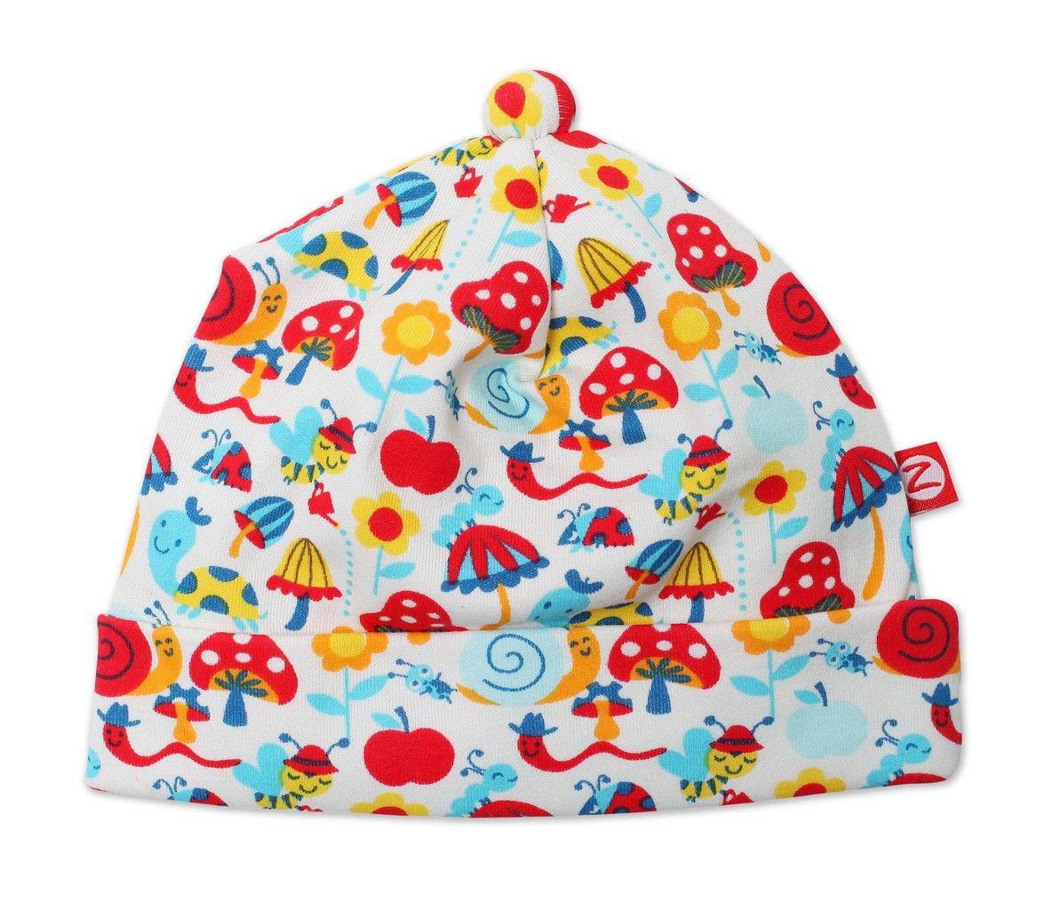 Newborn//Preemie Zutano Baby-Girls Newborn Happy Day Hat Cream