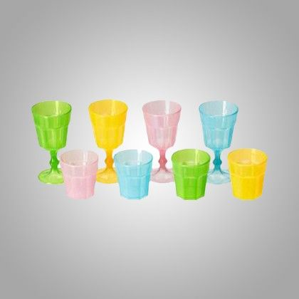 Glass - Pack Of 8 - Home Essentials