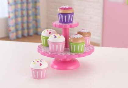 Cupcake Stand With Cupcakes - KidKraft