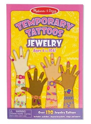 Temporary Tattoos - Jewelry - Melissa & Doug