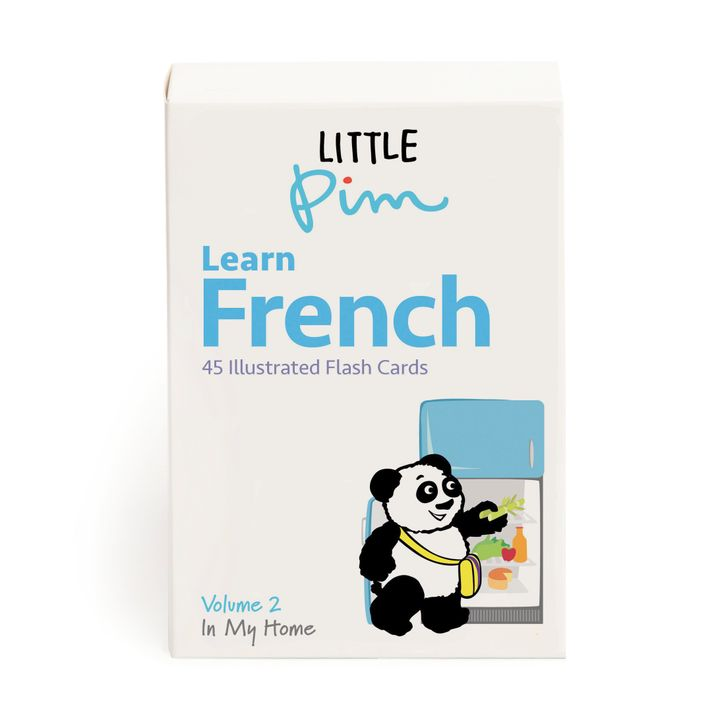 Little Pim French Word & Phrase Cards (Flashcards) (Vol  II)