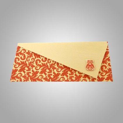 Triangular Flap - Orange Pack Of 5 - The Gift Bag